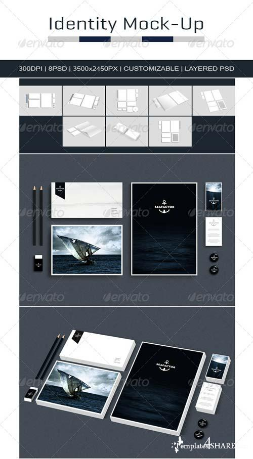 GraphicRiver Branding Identity Mock Up 4785309