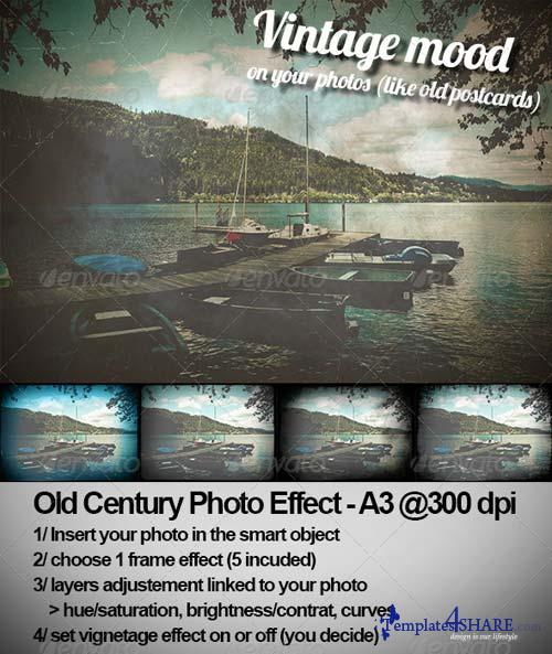GraphicRiver Old Century Photo Effect