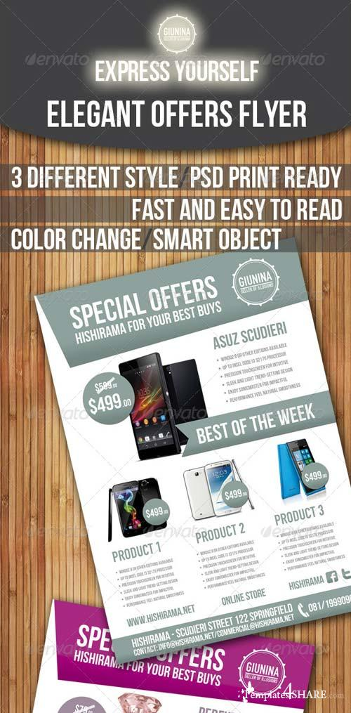 GraphicRiver Elegant Offers Flyer