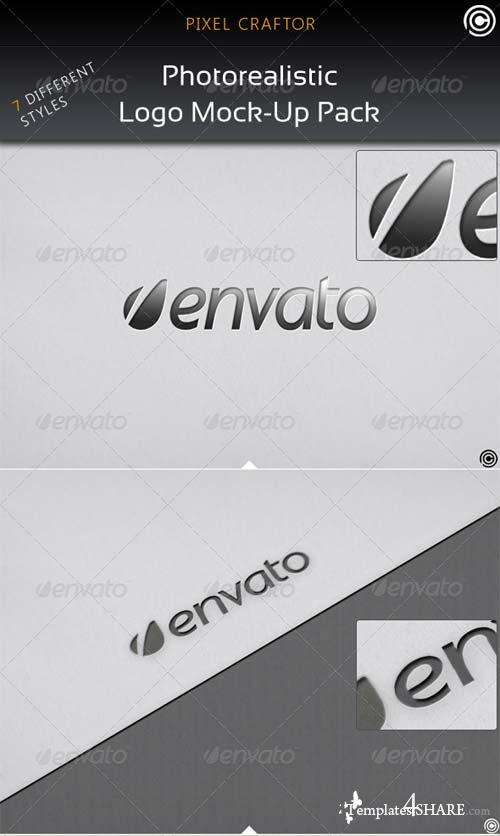 GraphicRiver 7 Clean Photo Realistic Mock Ups