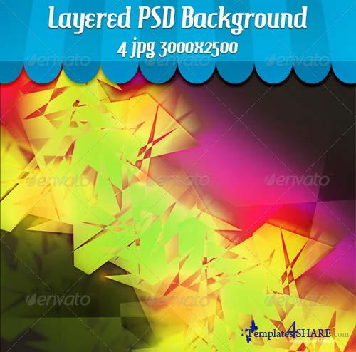 GraphicRiver Funky Abstract Background