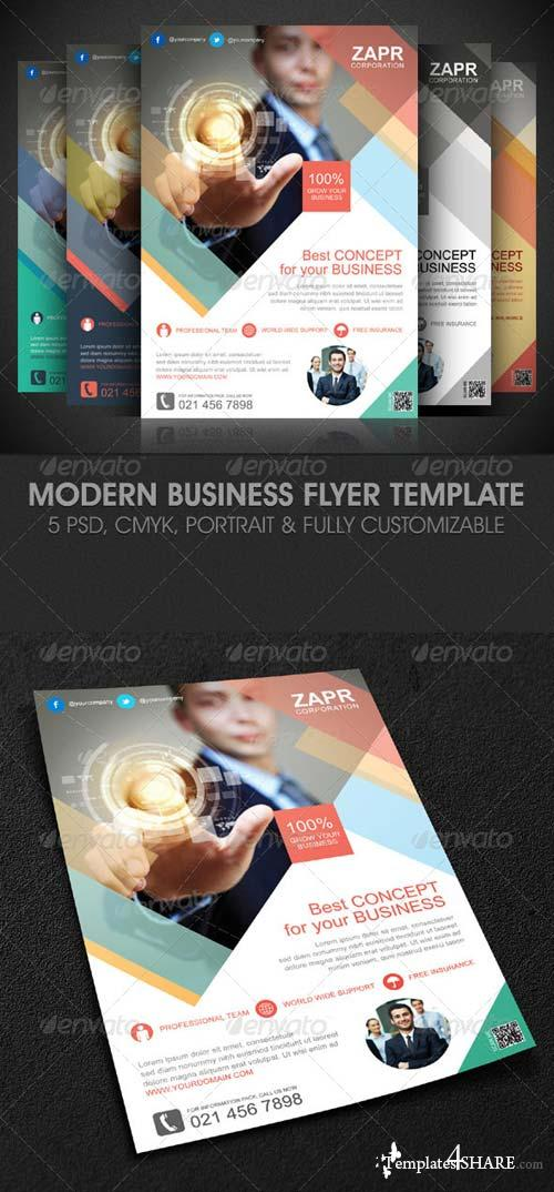 GraphicRiver Modern Business Flyer Template
