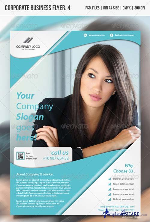 GraphicRiver Corporate Business Flyer Vol.4