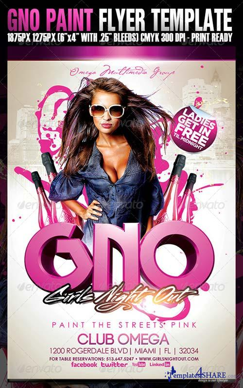 GraphicRiver GNO Paint The Streets Pink