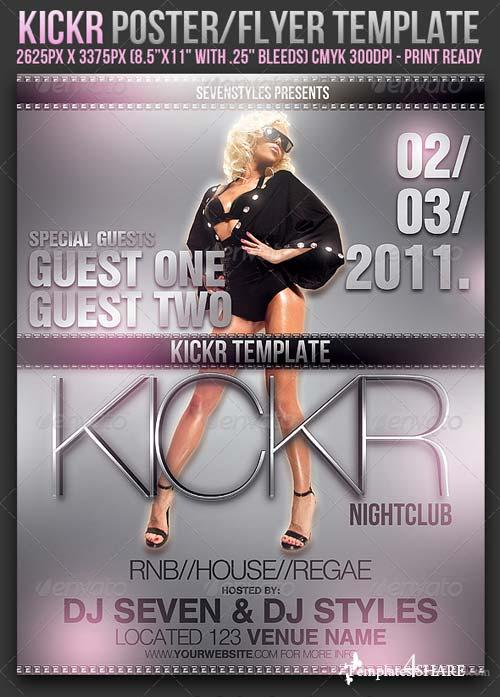 Graphicriver Kickr Poster/Flyer Template