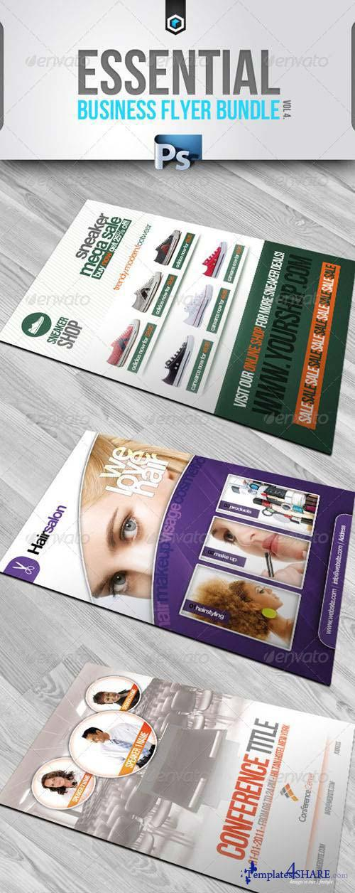 GraphicRiver RW Essential Business Flyers Bundle Vol 4