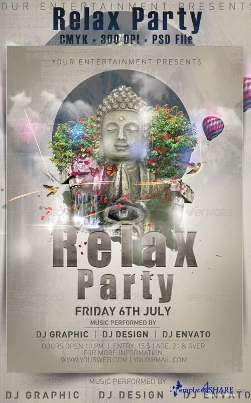 GraphicRiver Relax Party Flyer