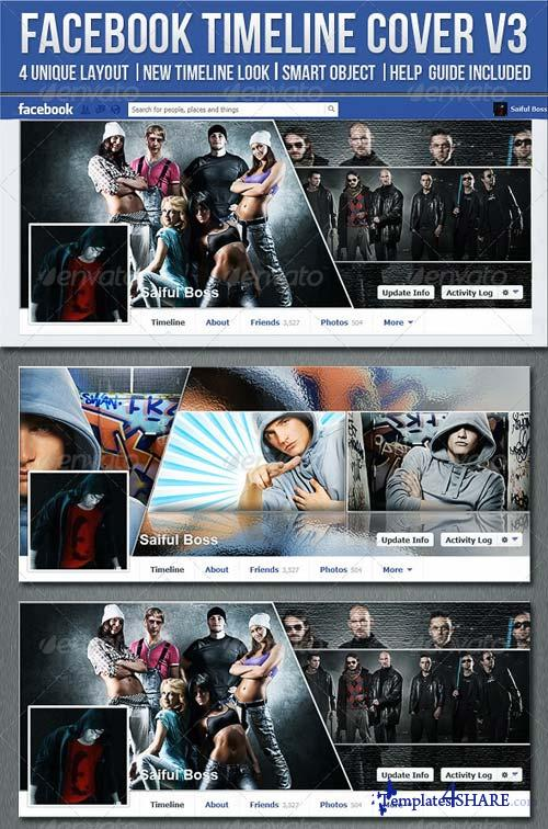 GraphicRiver FB Timeline Cover V3