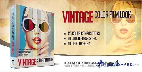 Vintage Color Film Look - After Effects Project (Videohive)