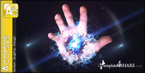 Magic Hand Logo Sting - After Effects Project (Videohive)