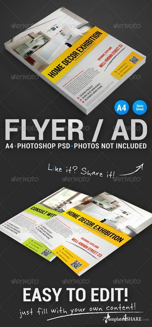 GraphicRiver Commerce Flyer 1