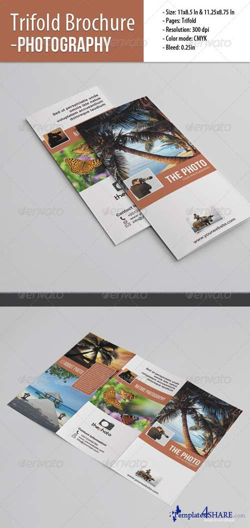 GraphicRiver Trifold Brochure For Photography 4840692