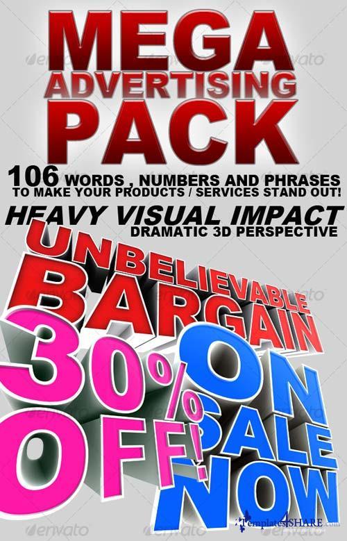 GraphicRiver Mega Advertising Pack!