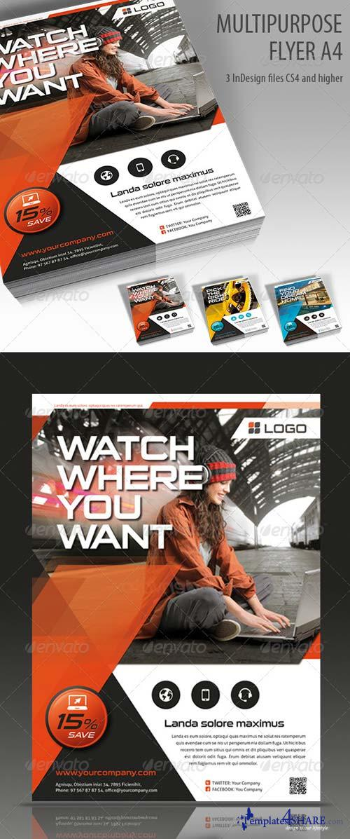 GraphicRiver Multipurpose Flyer A4 Vol. 2