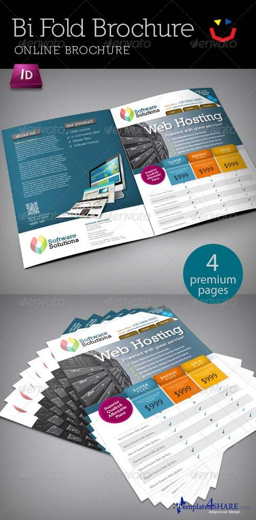 GraphicRiver A4 Bi fold Internet Brochure