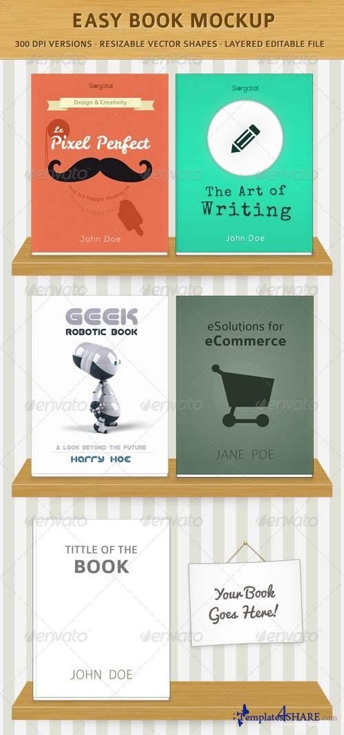 GraphicRiver Easy Book Mock-Ups