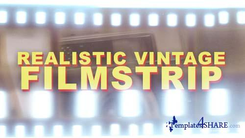 Realistic Vintage Filmstrip - Horizontal - After Effects Motion Graphics (Videohive)
