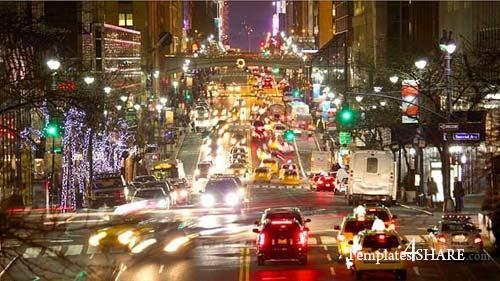 Urban Traffic In New York - After Effects Motion Graphics (Videohive)