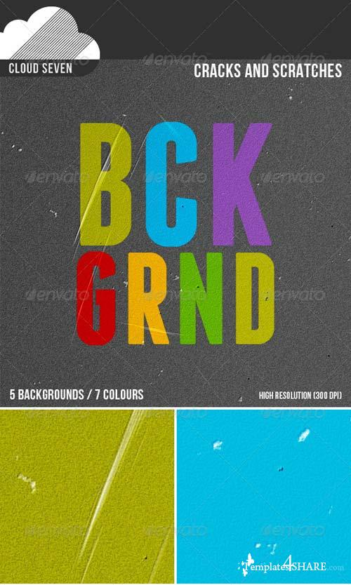 GraphicRiver Cracks and Scratches Backgrounds