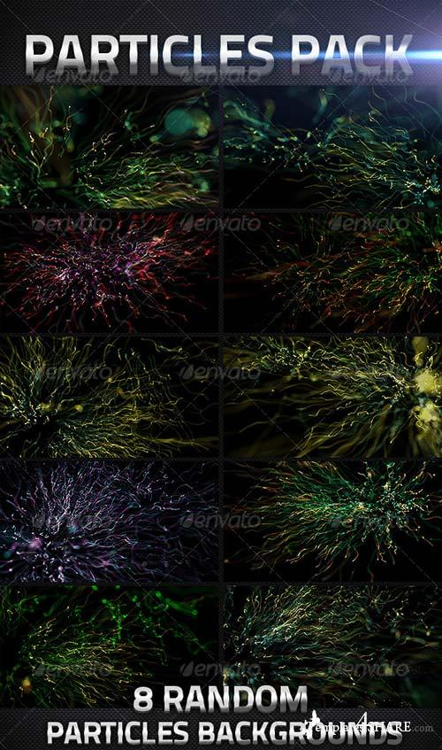 GraphicRiver 10 Abstract Particles Backgrounds