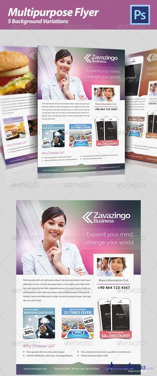 GraphicRiver Multipurpose Flyer 4764429