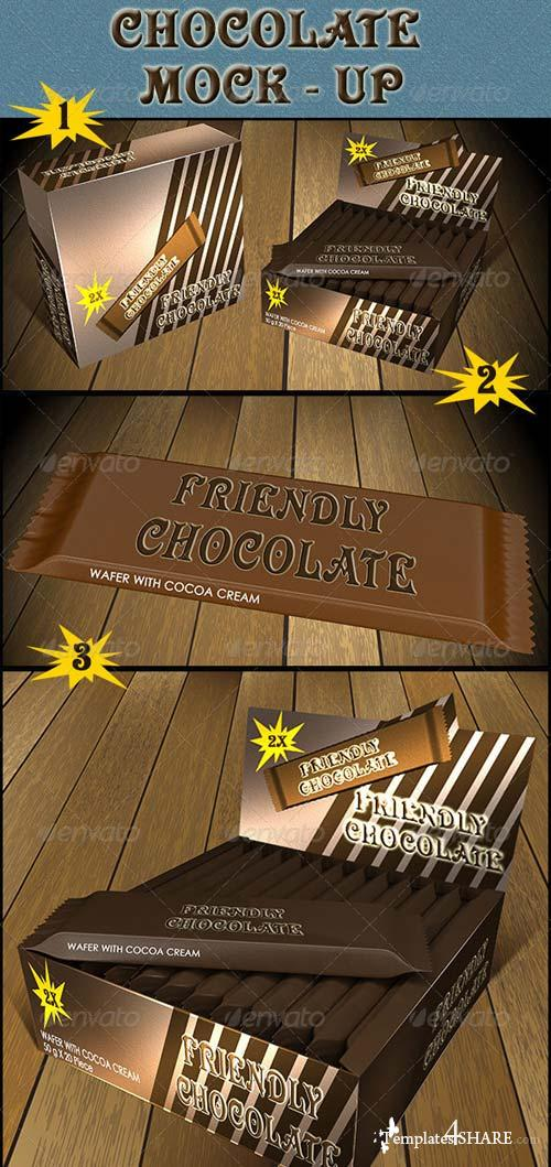 GraphicRiver Chocolate Mock - up