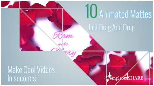 Clean Animated Motion Mattes - After Effects Motion Graphics (Videohive)