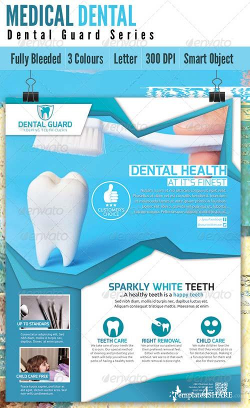 GraphicRiver Medical Dental Flyer V2