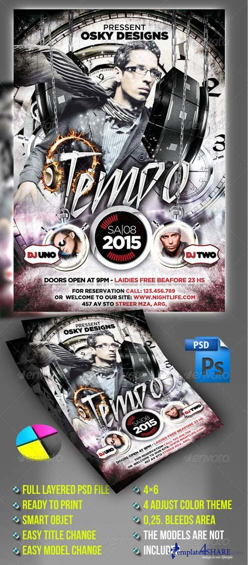GraphicRiver Tempo Flyer Party