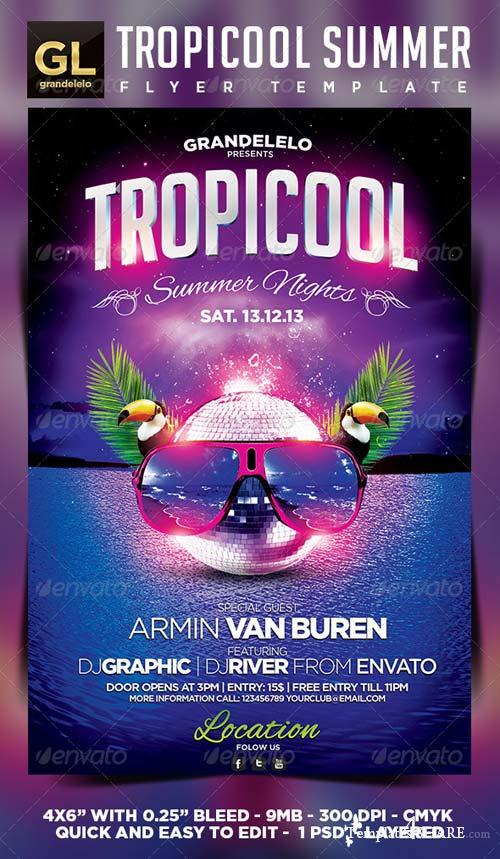 GraphicRiver Tropical Summer