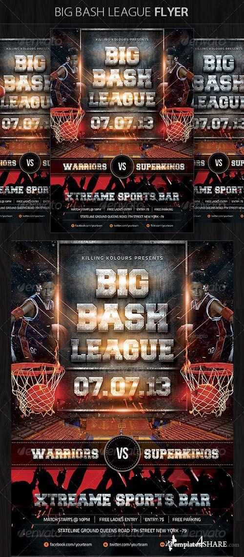 GraphicRiver Big Bash League Flyer