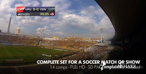 Live Soccer Broadcast - After Effects Project (Videohive)