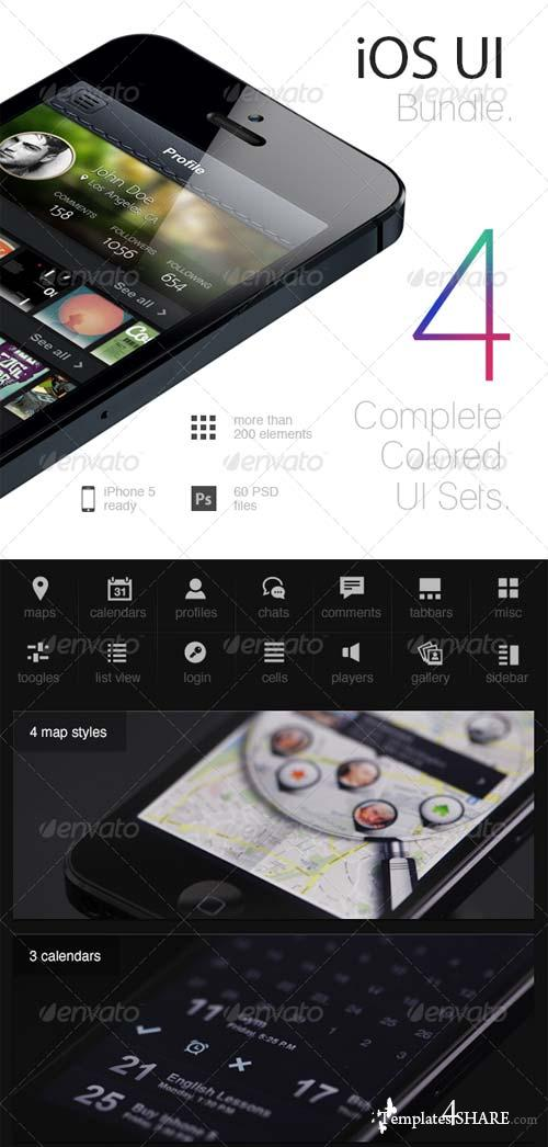 GraphicRiver iOS UI Bundle