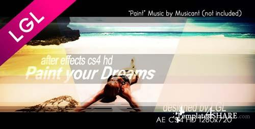 Paint Your Dreams - After Effects Project (Videohive)
