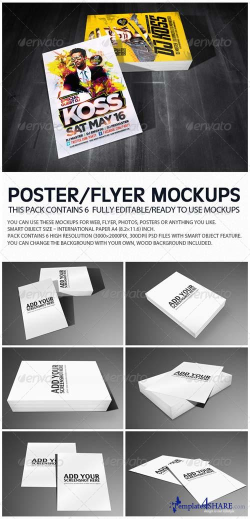 GraphicRiver Flyer Poster Mockups