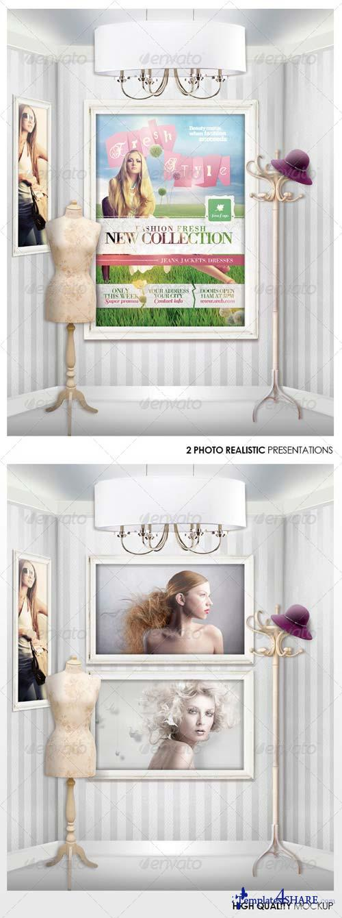GraphicRiver Fashion & Sale Mock-Up