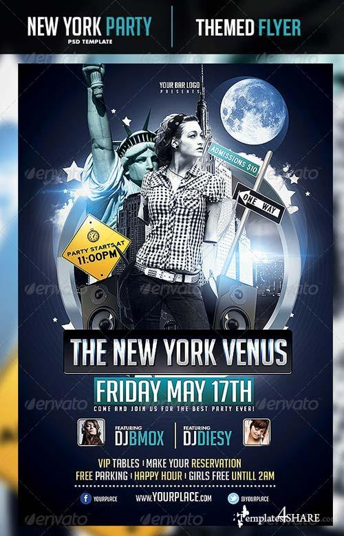 GraphicRiver The New York Venus Flyer Template
