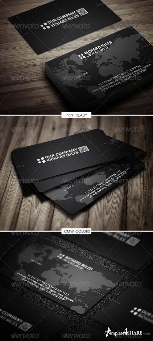 GraphicRiver Corporate Business Card 4968798