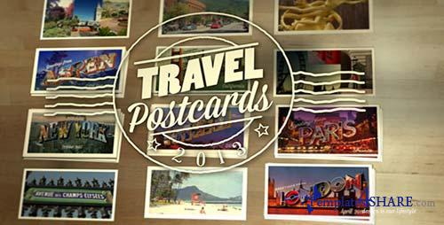Travel Postcards - After Effects Project (Videohive)