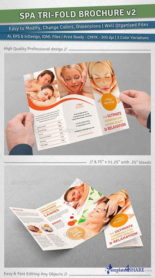 GraphicRiver Spa Tri-Fold Brochure | Volume 2