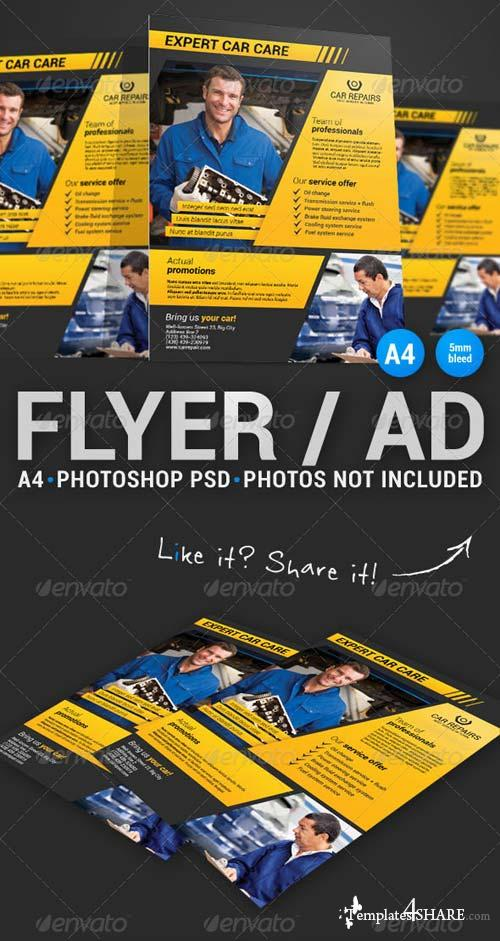 GraphicRiver Corporate Flyer 12