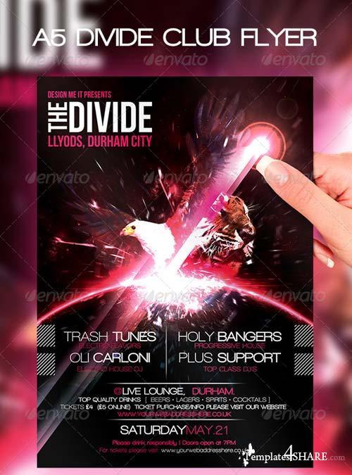GraphicRiver A5 Club Poster Divide