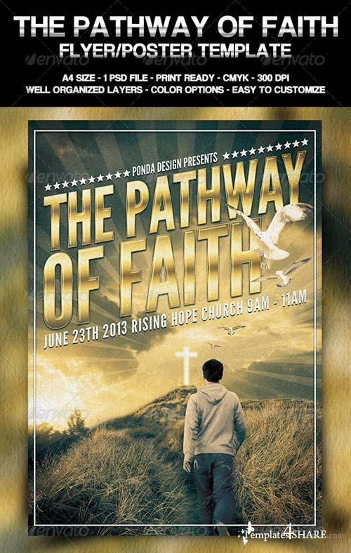 GraphicRiver The Pathway of Faith Flyer/Poster Template
