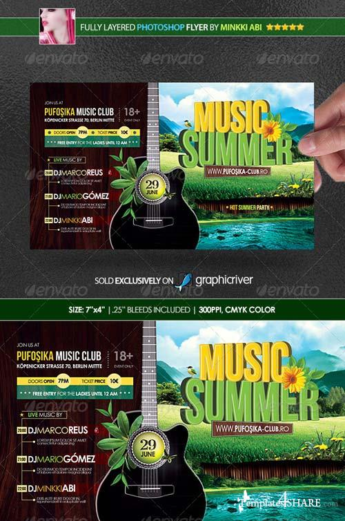 GraphicRiver Summer Music Poster/Flyer