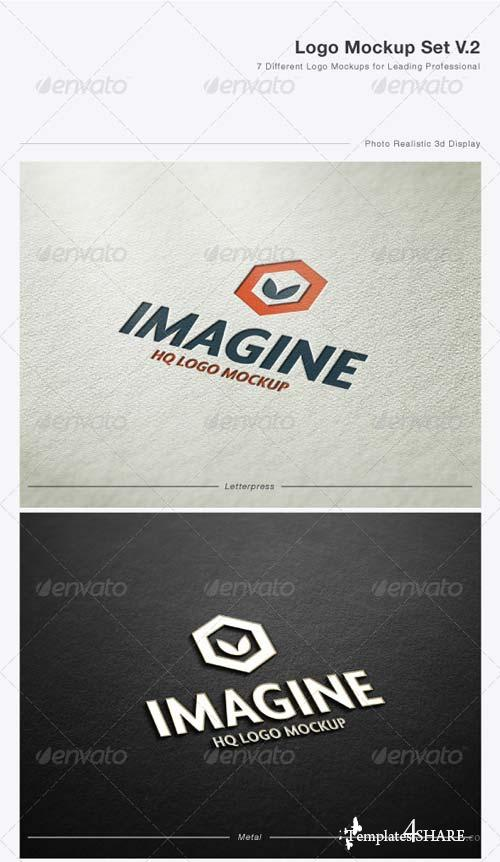 GraphicRiver Logo Mock-Up Set V.2