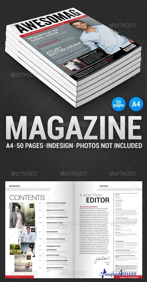 GraphicRiver AwesoMag 50 pages magazine
