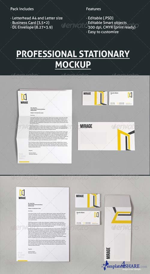 GraphicRiver Stationery Mock-Up 03