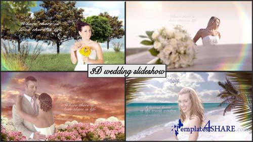 3D Wedding slideshow - After Effects Project (Videohive)