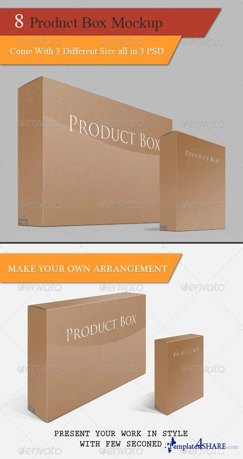 GraphicRiver Product Box Mock-up