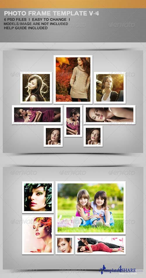 GraphicRiver Photo Frame Templates V-4